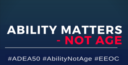 Ability Matters, not Age