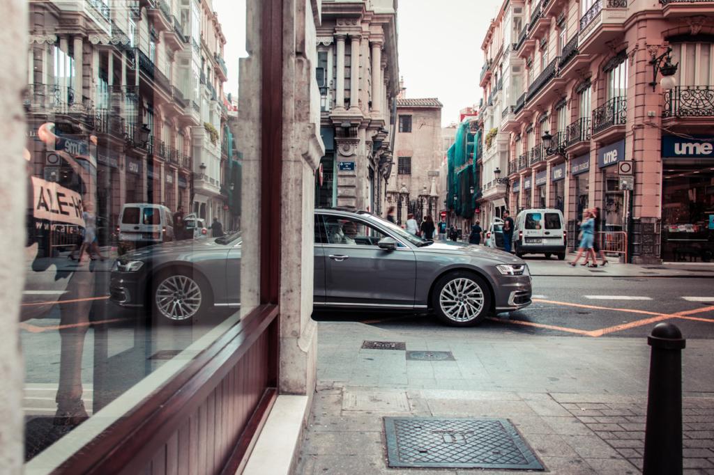 Audi A8 in Valencia