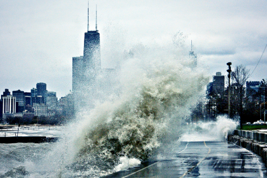 Climate Change - Hurricane Sandy