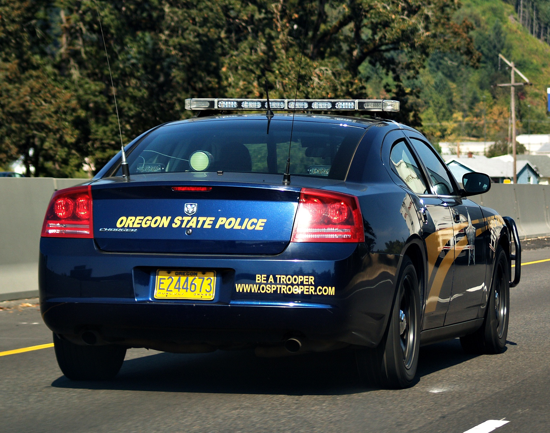Oregon State Police Car - Finicum