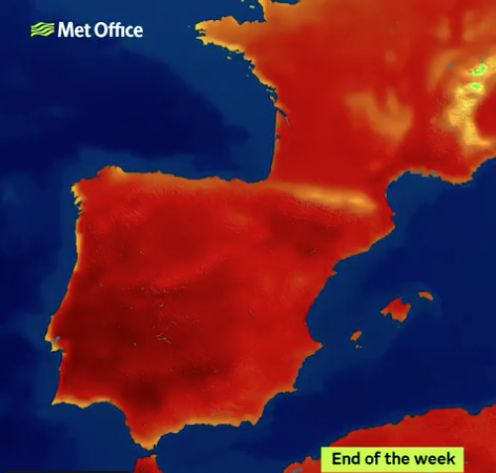 Heatwaves in Europe