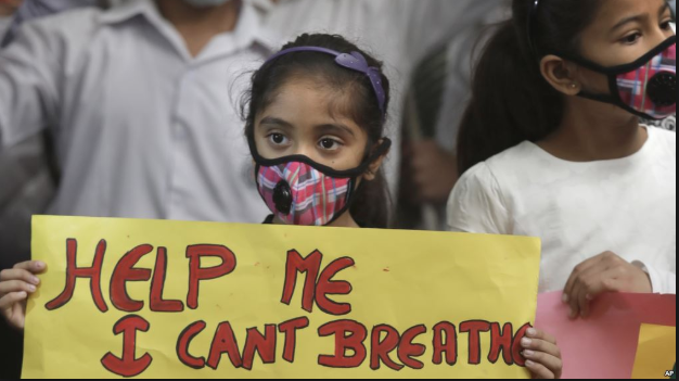 Fossil Fuels - New Delhi pollution