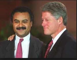 President Clinton & Secretary Ron Brown - Article: Impeachment