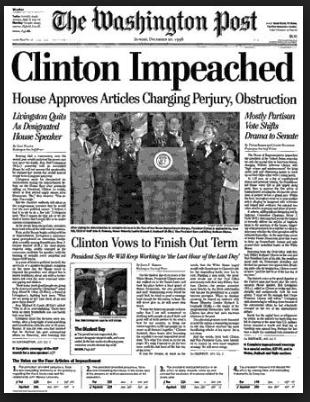 Clinton Impeachment - Washington Post