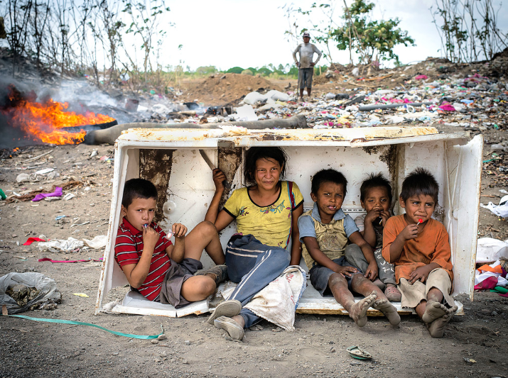 Illegal Immigration - Open Dump Site in Nicaragua