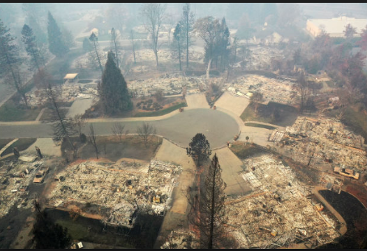 climate catastrophe - camp fire