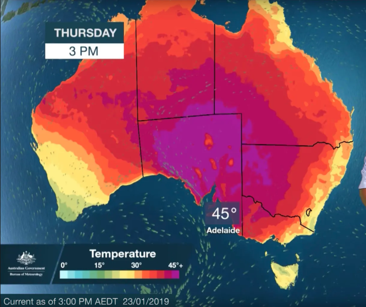 Global Warming in Australia